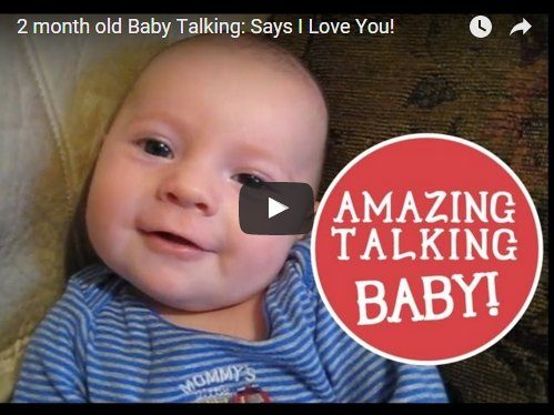 This 2-month-old baby says 'I love you' in the cutest possible way