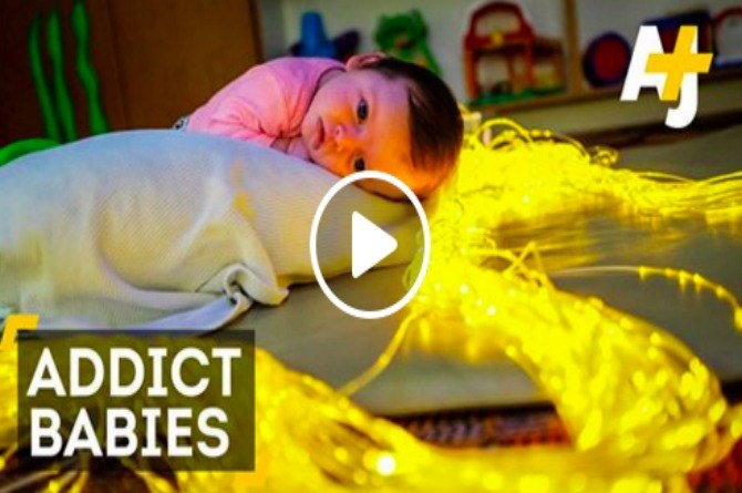 What you see will scare you: These babies were born addicted to drugs
