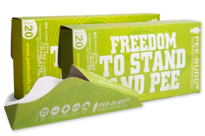 Thanks to PeeBuddy; ladies, you can now pee while standing