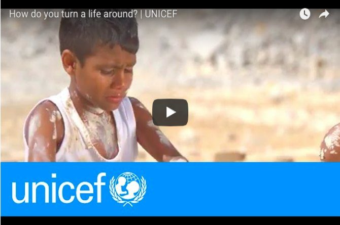 UNICEF Video: Every child deserves a fair chance