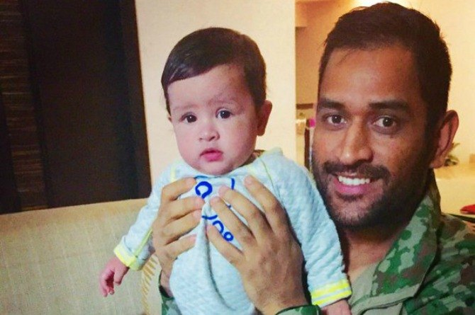 These pictures will make you fall in love with MS Dhoni's cute daughter Ziva