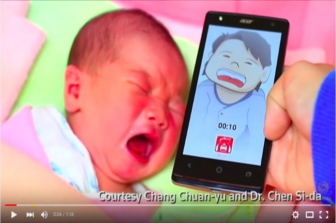 Just in: This cellphone App can tell you why your baby is crying