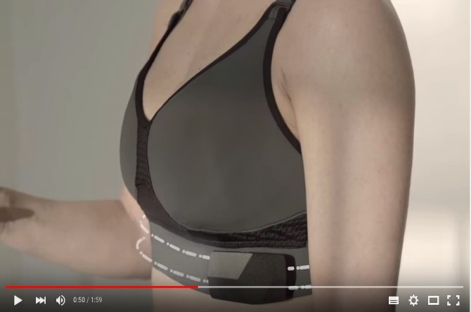 Meet the world's first biometric-tracking smart bra