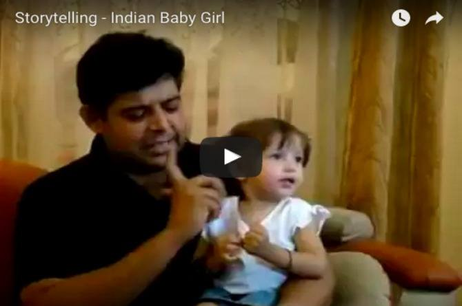 This cute girl is the best storyteller in India