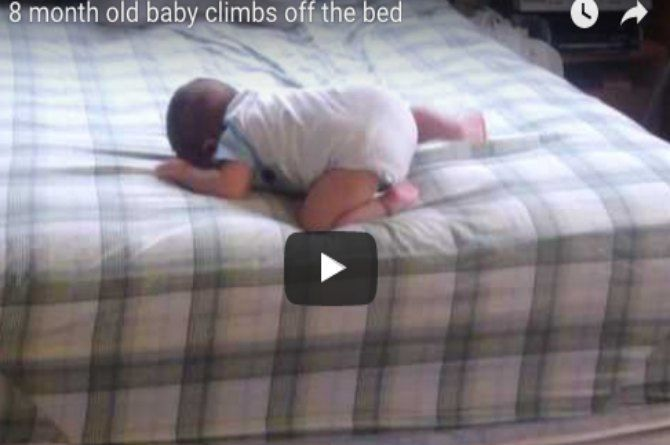 OMG! You must never ever let your baby do this