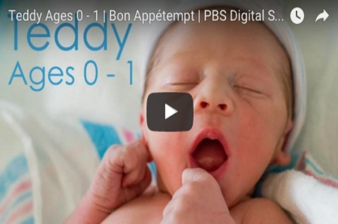 This 2-minute video of a baby's first year is the cutest thing you will see today