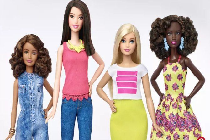 The tables have turned: Barbie goes curvy, finally!