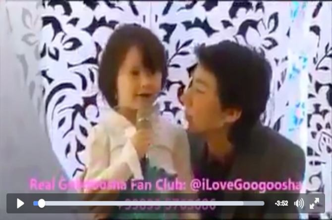 Watch this Chinese baby sing an Indian song almost to perfection