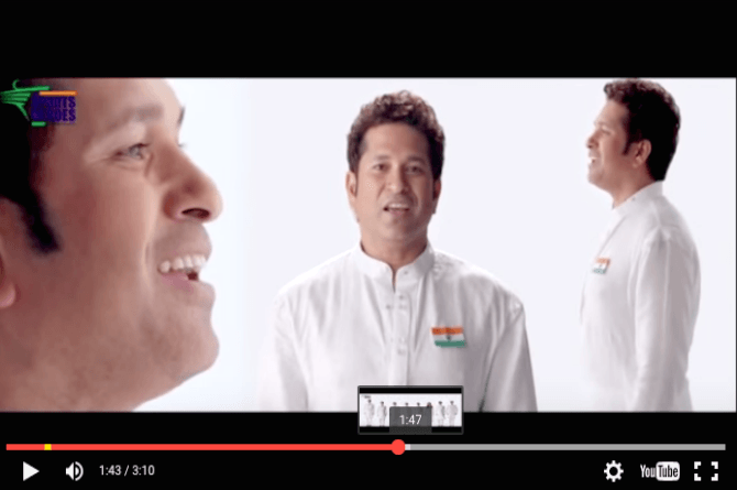 Must-watch: Sporting legends sing the national anthem to encourage kids to play more