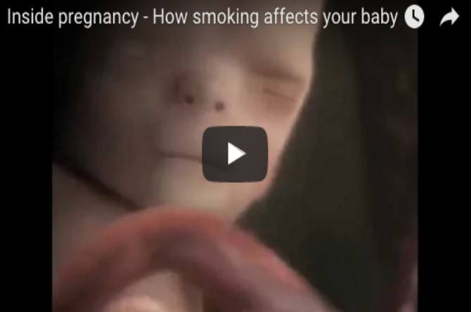 How harmful smoking can be for your unborn baby