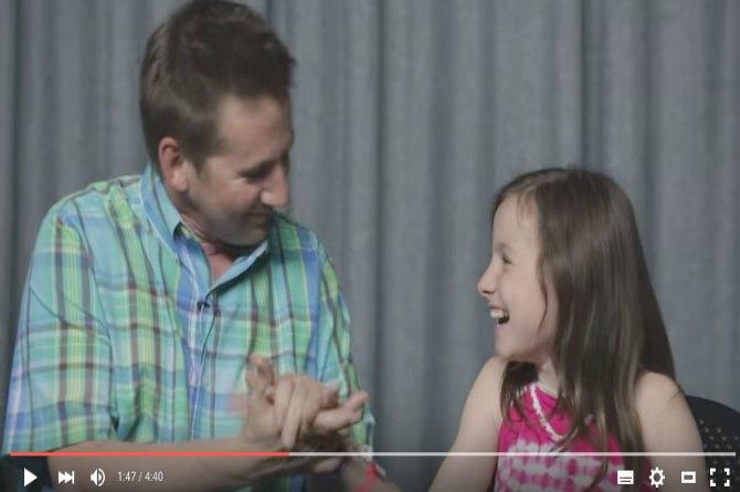 This father-daughter duo would make you go all teary-eyed