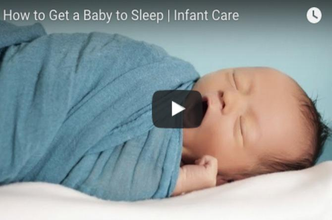 Useful tips: How to get your baby to sleep