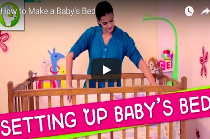 Useful tips: How to make a baby's bed