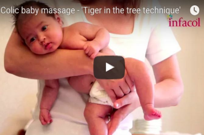 Must watch: Ease colic by using the 'Tiger in the tree technique'