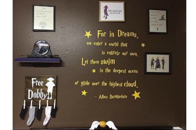 LOOK: This Harry Potter inspired nursery will melt your potterhead heart