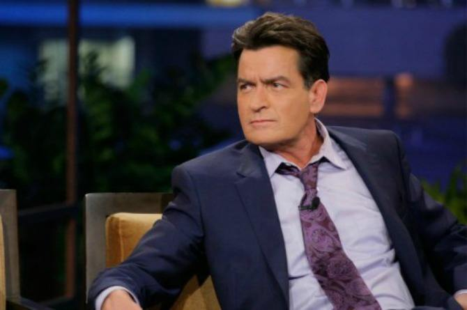 Actor Charlie Sheen can no longer afford child support