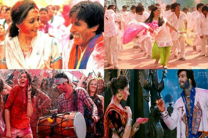 Top 7 Bollywood Holi songs that you must have on your playlist this year!