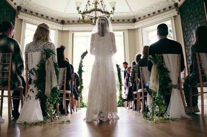 This wedding video will send chills down your spine