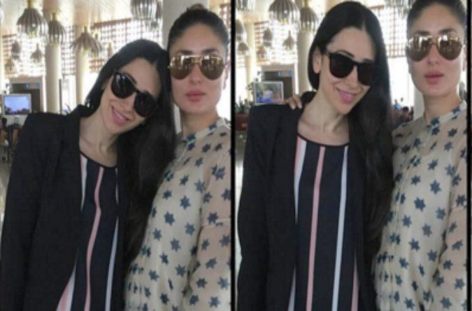 Sister act: Karisma and Kareena Kapoor give you major sibling fashion goals!