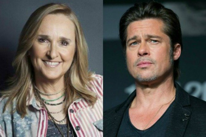 Brad Pitt was rejected as a sperm donor by singer Melissa Etheridge
