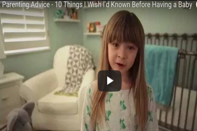 Watch: What Parents wish they knew before having a baby