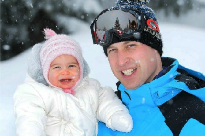 Why did Prince William miss Princess Charlotte's first Easter?