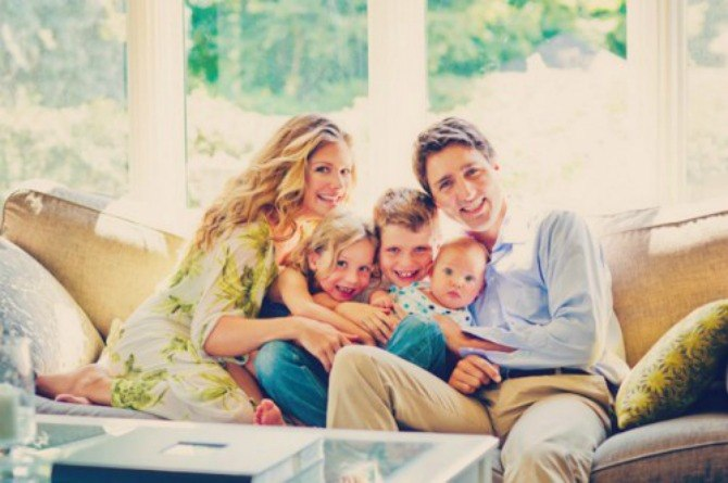 Canadian Prime Minister Justin Trudeau's wife, Sophie, favours extended breastfeeding