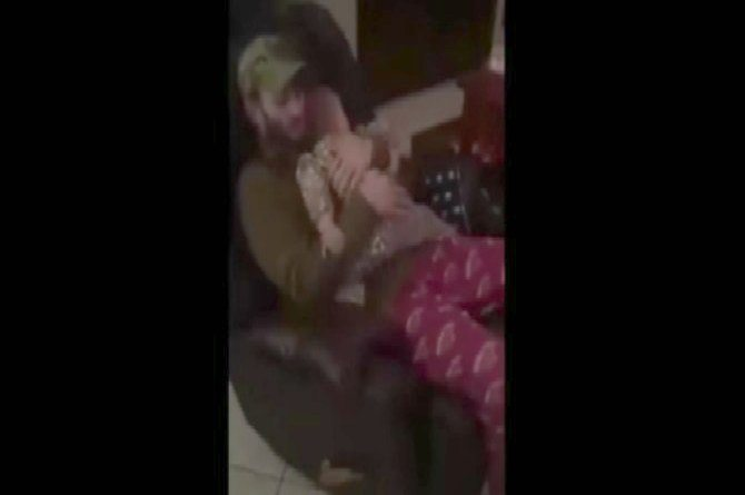Watch: This baby won't let her dad stop hugging her!