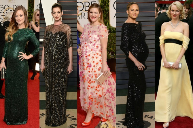 LOOK: 35 stunning celebrity maternity looks on the red carpet