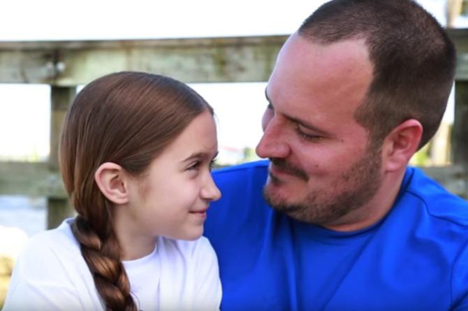 WATCH: Single dad's hair-braiding skills shows daughter how much he loves her
