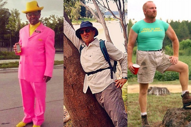 LOOK: 15 Funny unfashionable dads acting like fashion bloggers