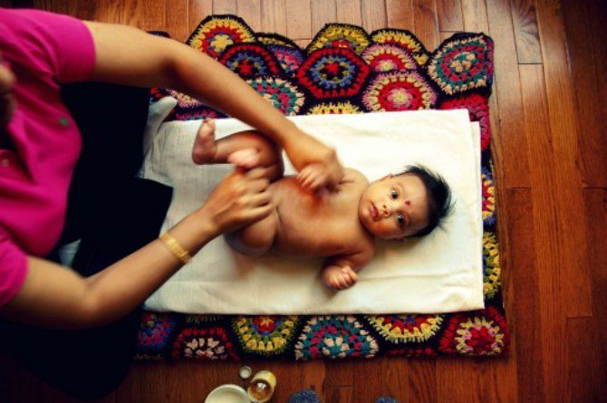 Benefits Of Massage For Babies Include Reducing Pain And Stress