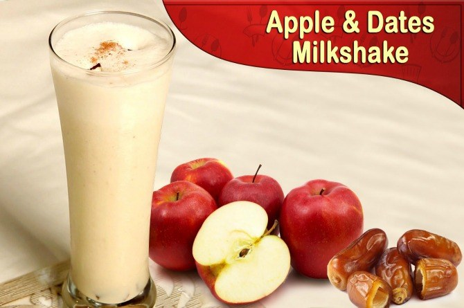 Video: Try this cooling apple and date milkshake recipe for your kids this summer