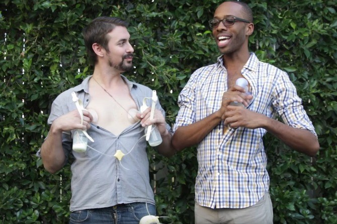 WATCH: What would the world be like if men breastfed?