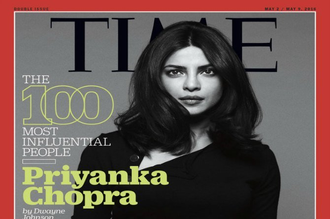 There's no stopping her! Priyanka Chopra on Time's 100 most influential people in the world list