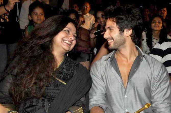 "Mum Neelima Azeem thinks Shahid would be ""the best Dad in the world"""