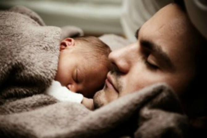 Study says dads of newborns are more sleep-deprived than mums