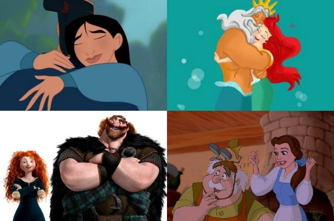 8 awesome Disney dads who were always there for their little princesses