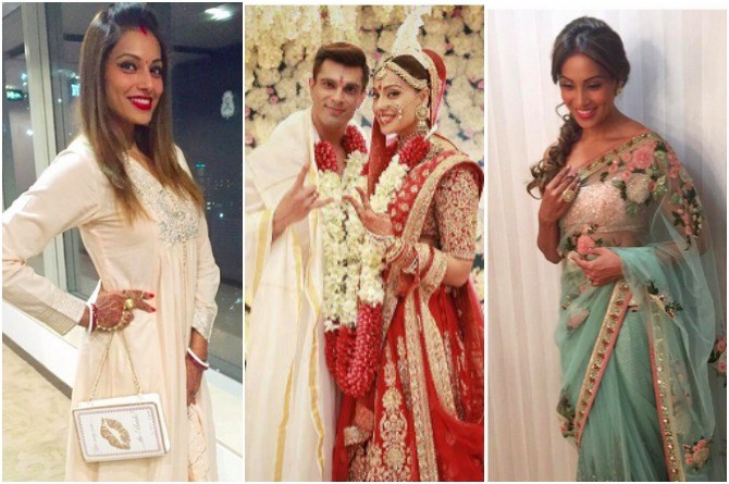 Newly married Bipasha Basu shows us what post wedding fashion is all about (pics inside!)