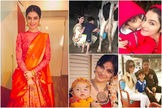 9 pictures that prove Divya Khosla Kumar's idea of parenting is totally desi