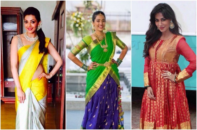 4fea6f0e218 10 Amazing Ways To Reuse Your Old Silk Sarees | theIndusParent