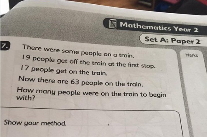 This elementary math question is totally baffling parents! Can you solve it?