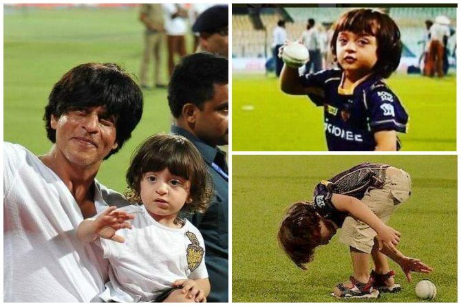 How AbRam Khan is stealing the thunder from Dad Shah Rukh Khan at IPL matches
