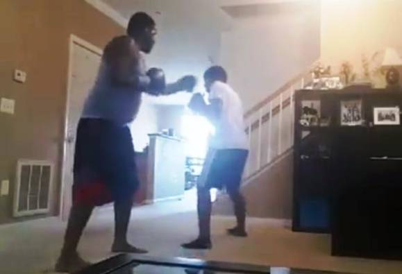 Viral video: Father forces son for brutal 'boxing match' as punishment for skipping school