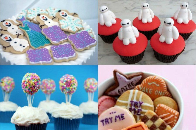 12 Disney-inspired recipes that will take your kid's party to a whole new world!