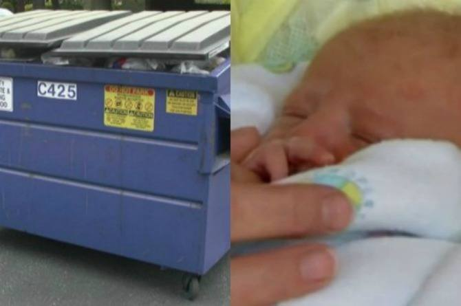 Baby left for dead in dumpster 20 years ago reunites with rescuer