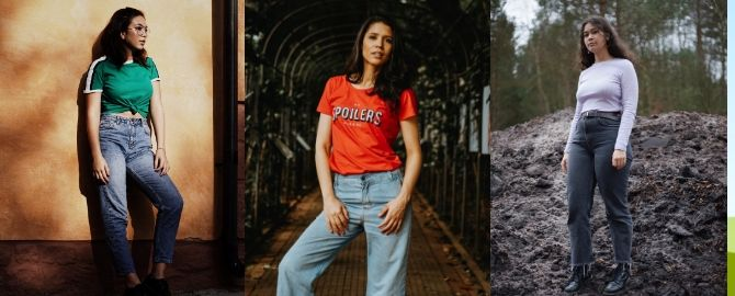 10 Ways to make 'Mum Jeans' look super cool