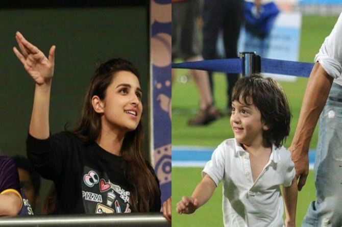 Must-Watch: AbRam has a sword fight with Parineeti Chopra and guess who won!