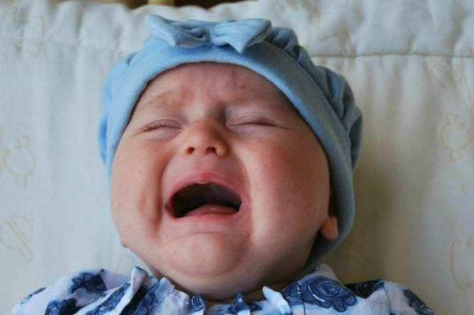 This mother's baby won't stop crying and the reason behind it shocks her