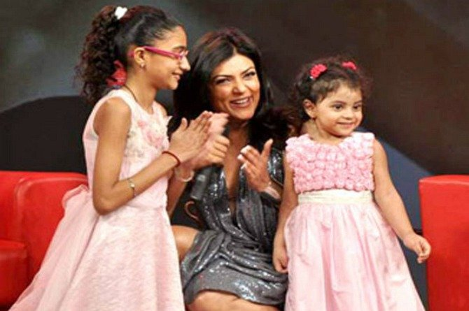 Sushmita Sen's speech at her daughter's Annual Day is truly inspirational